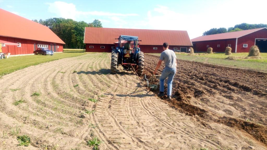 Traktorn ersätter hästen